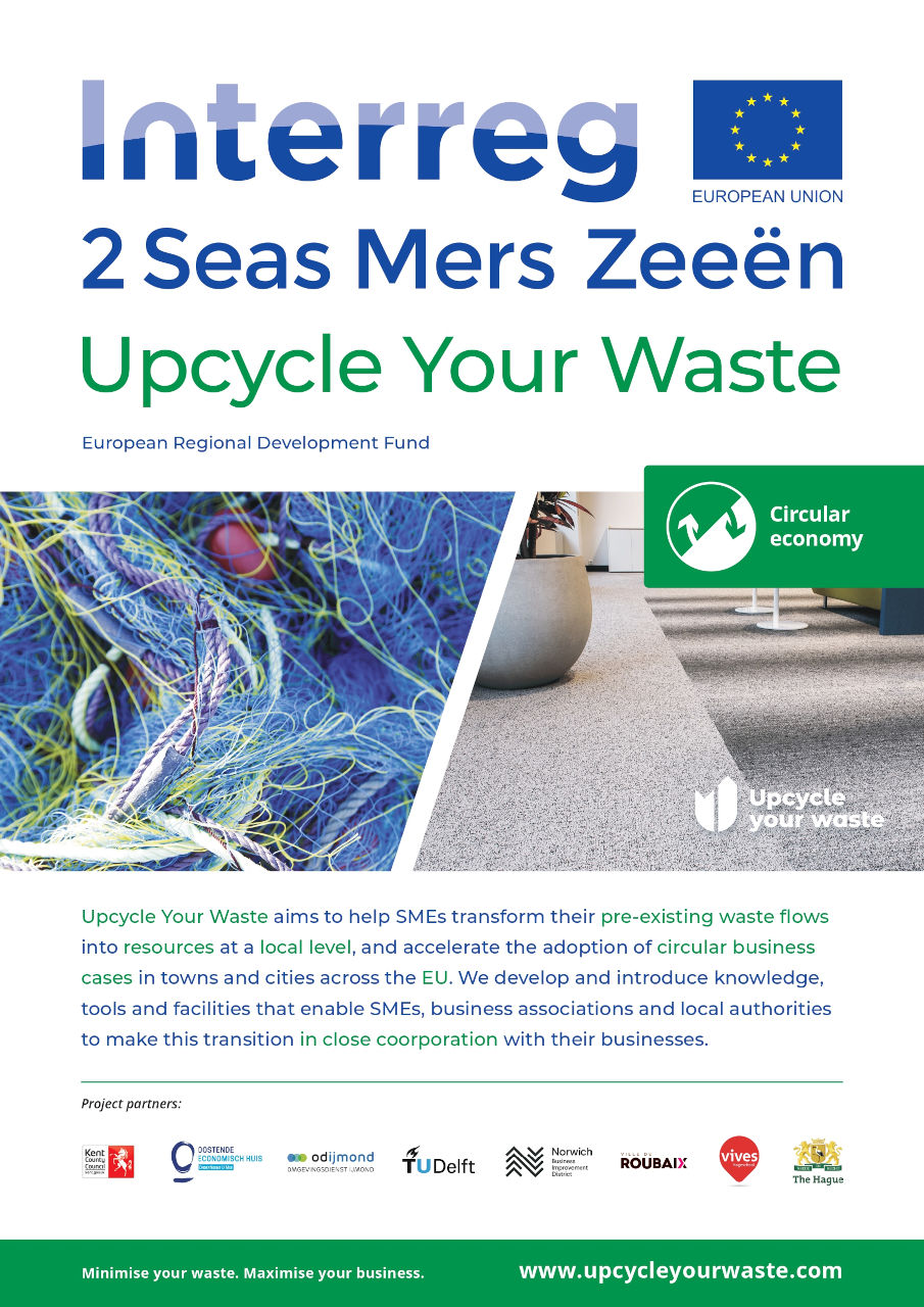 Interreg Upcycle your Waste poster